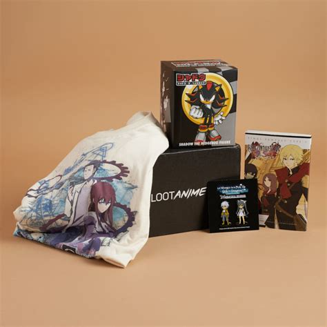 loot anime subscription box game  review coupon