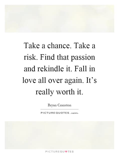 Take Risk In Love Quotes