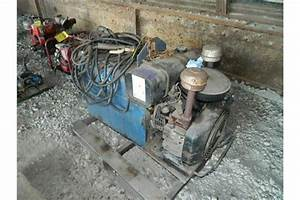 Miller Aead Dc Arc Welder  Generator  Gas Powered Onan Engine