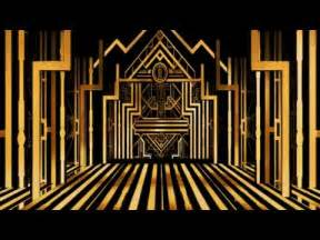 Art Deco Background Free Gold