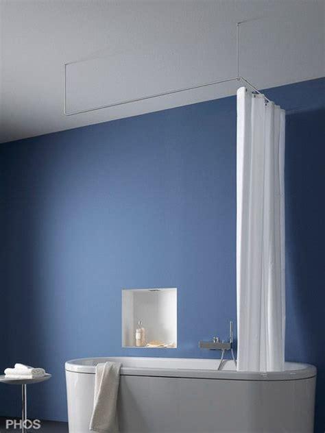 wasserhahn für badewanne duschvorhangstange edelstahl in u form mit