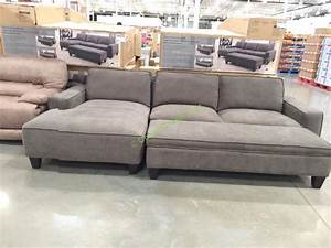 fabric sectional with storage ottoman costcochaser With costco sectional sofa 799