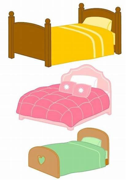 Goldilocks Bears Bed Three Clipart Bear Preschool