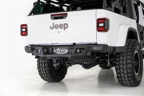 jeep gladiator jt stealth fighter rear bumper  backup sensors addictive desert designs