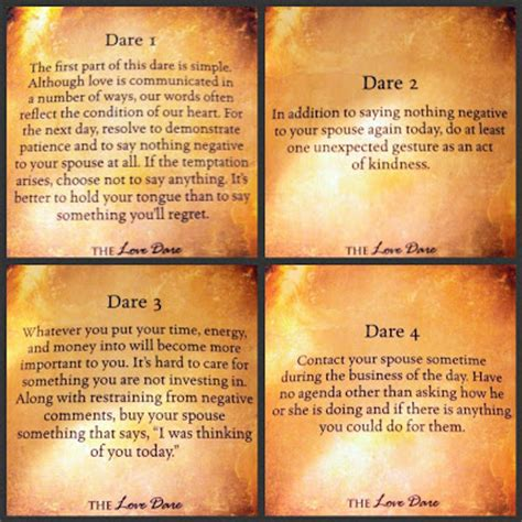 Fast Love Dare Quotes From Fireproof