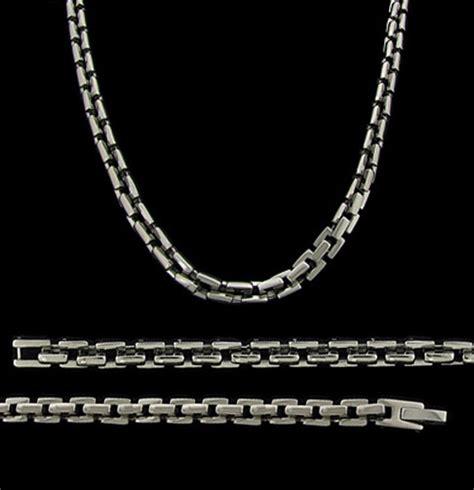mens cross rings tungsten mens titanium necklace titanium chain for
