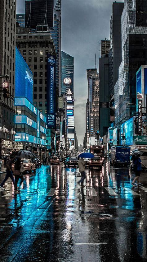 Download hd dark wallpapers best collection. 1080x1920 New York City Street Reflection Motion Blur Dark 4k Iphone 7,6s,6 Plus, Pixel xl ,One ...