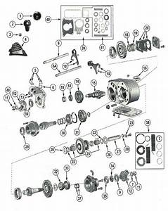 Dana Spicer 300 Transfer Case Parts From Midwest Jeep Willys