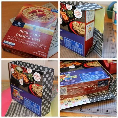 craft cereal box purse valentine box