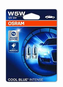 Osram Cool Blue Intense 5w5 : osram cool blue intense t10 w5w 12v 4000k xenon look ~ Jslefanu.com Haus und Dekorationen