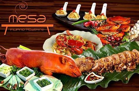 50% Off Mesa Moderne Filipino Food & Drinks Promo In Gensan