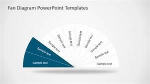 Fan Diagram Design For Powerpoint