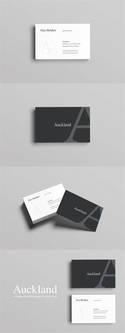auckland business card