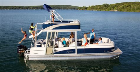 Deck Pontoon With Slide by Research 2013 Avalon Pontoons C Funship 24 On Iboats