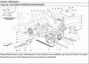 Buy Ferrari Part   201236 Air Conditioning  Air