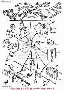Yamaha Dt50w Dtl  C 1989 Electrical 1