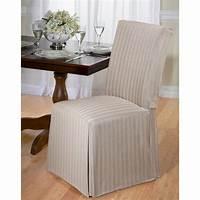 chair slip cover Herringbone Dining Room Chair Slipcover | eBay