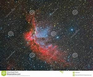 NGC 7380 Wizard Nebula Stock Photo - Image: 44943497