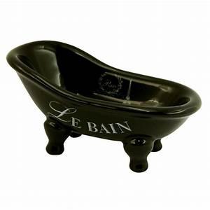 Petite Baignoire Retro : porte savon petite baignoire ancienne noire paris ~ Edinachiropracticcenter.com Idées de Décoration