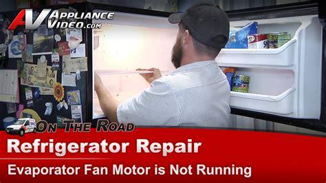 fridge fan motor replacement kenmore whirlpool refrigerator repair evaporator fan