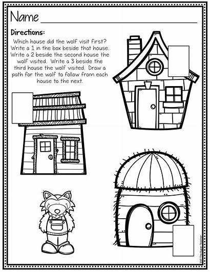 Story Elements Pigs Worksheet Three Simple Worksheets