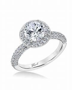 white gold engagement rings martha stewart weddings With round wedding rings white gold
