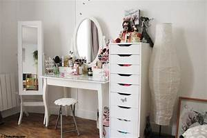 Table De Maquillage Ikea : 17 best ideas about coiffeuse ikea on pinterest coiffeuse maquilleuse tables vanity and ikea ~ Nature-et-papiers.com Idées de Décoration