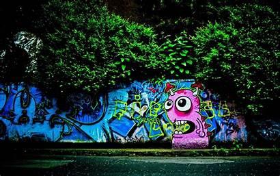 Street Wallpapers Desktop Backgrounds Graffiti Artistic Cool