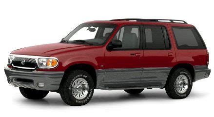 mercury mountaineer owners manual  service