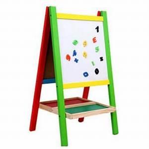 Tableau Aimanté Pour Photos : tableau 2 en 1 pour enfant ardoise et magn tique achat ~ Dailycaller-alerts.com Idées de Décoration