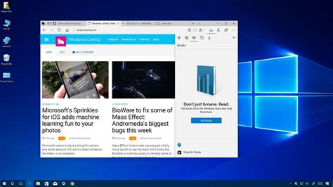 microsoft to bring edge to the windows 10 store with redstone 3 windows central