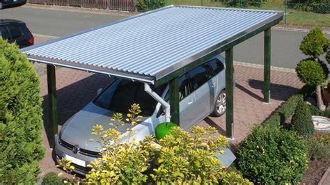 Carport Dacheindeckungen #stahltrapezprofilplatten
