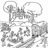 Coloring Vacation Beside Vacations Railroad Drawing Summer Steam Dental Train Amazing Luna Getdrawings Colorluna Interested sketch template