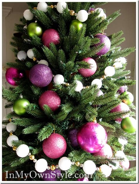Decorate Christmas Tree Garland Beads by How To Make A Snowball Christmas Tree Garland In My Own