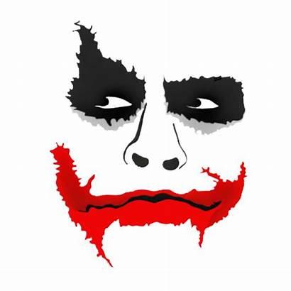 Joker Smile Face Sticker Batman Quinn Harley