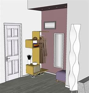 Guardaroba Ingresso In Nicchia ~ Tutte le Immagini per la Progettazione di Casa e le Idee di Mobili