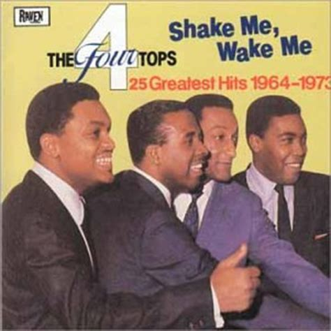 Amazoncom The Four Tops Shake Me, Wake Me 25 Greatest