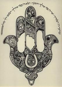 beautiful hamsa drawing | the evil eye & hand of fatima ...