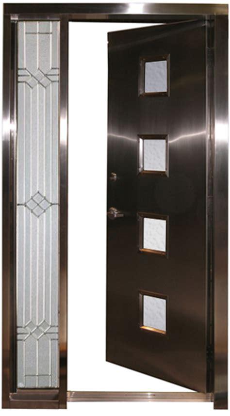 custom steel doors custom satinless steel doors