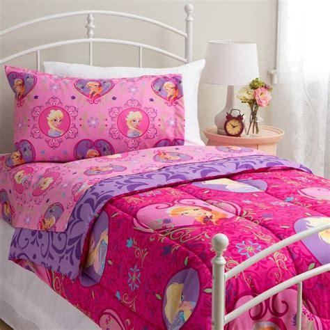 disney frozen twin size complete bedding set wth comforter