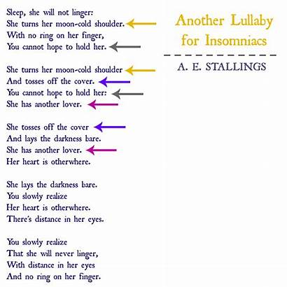 Pantoum Examples Poems Form Word Weaving Line