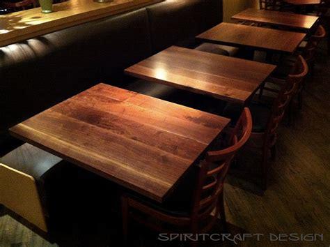 black table restaurant custom solid hardwood table tops dining and restaurant