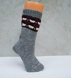 Socken Stricken Mit Muster : strickanleitung socken mit hebemaschenmuster gr 37 38 ~ Frokenaadalensverden.com Haus und Dekorationen