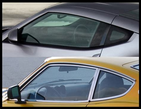 Datsun 350z by Design Study Datsun 240z Vs Nissan 350z Japanese