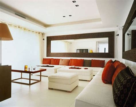 Large Living Room Mirrors by Decorating Large Living Room With Wall Mirror Decorative