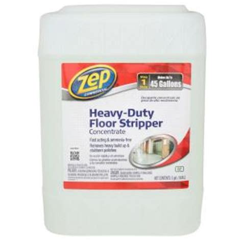 zep 5 gal heavy duty floor stripper zulffs5g the home depot
