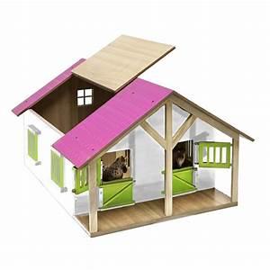 Pferdestall Aus Holz : kids globe pferdestall 51 x 40 5 x 27 5 cm mit rosa dach ~ Eleganceandgraceweddings.com Haus und Dekorationen
