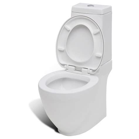 Toilet And Bidet Set by Vidaxl Nl Staand Toilet En Bidet Set Wit