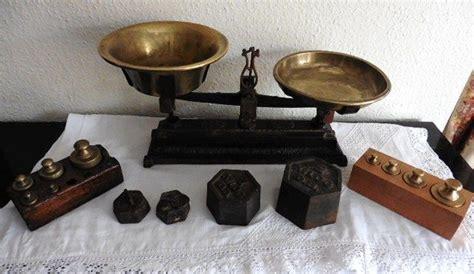 balance de cuisine ancienne lot de poids et balance de cuisine ancienne catawiki