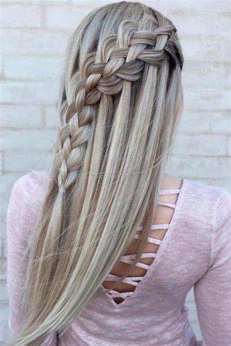 moda capelli  trecce  idee natale